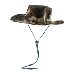 Forest Camouflage Cowboy Hat
