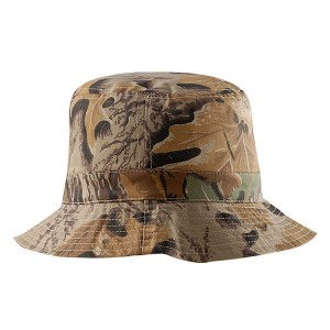 Camouflage Adjustable Bucket Hat Outdoor Camouflage Bucket Cap With Strings Wholesales