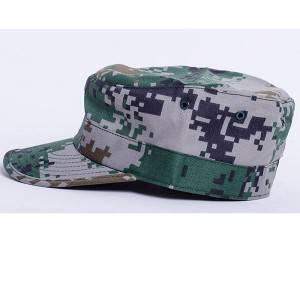 Camouflage military cap for military training