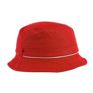 Custom Best Designer XL Cotton Womens Bucket Hats Bulk Red