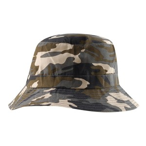 Manufacturer Fashional Summer Outdoor Fishing Sun Protection camouflage fisherman bucket hat