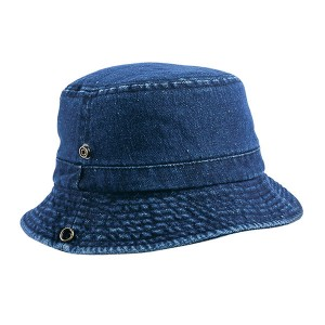 High Quality Fashion 100% Cotton Twill Stone Washed Bucket Hat Custom