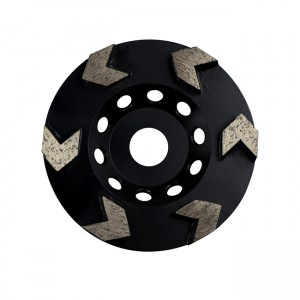 Diamant Cup Wheels (brasé) 8