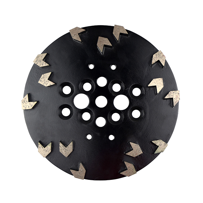 Factory Selling Trapezoid Grinding Plate -