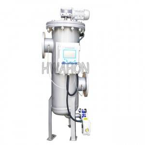 Automatic scraping self cleaning filter for chemical filtration