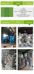 Factory Supply Industry 304 Stainless Steel Automatic Self Cleaning Water Filter for Industrial Filtering