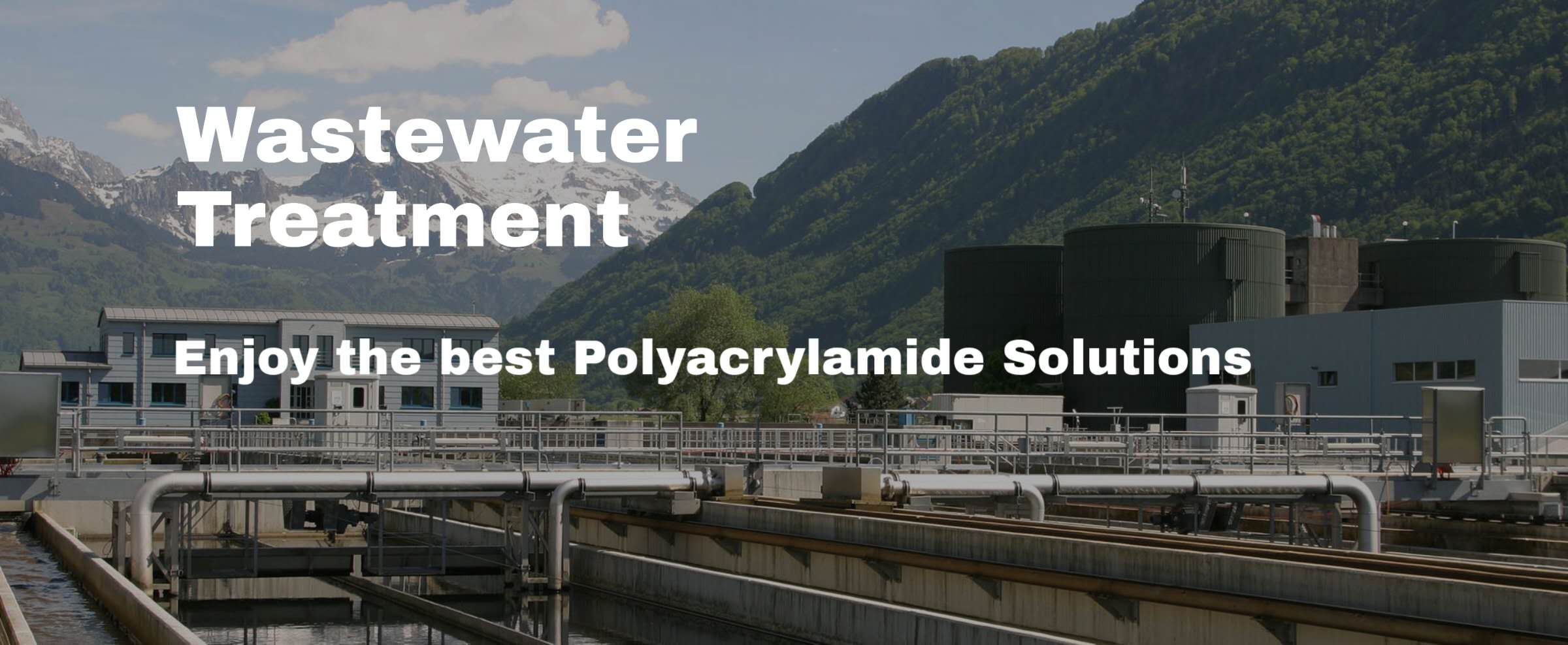 Wastewater Treatment Polyacrylamide Flocculant
