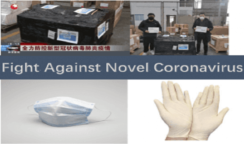 Custom T-Shirt Label From China Fight Against Novel Coronavirus – Oujian