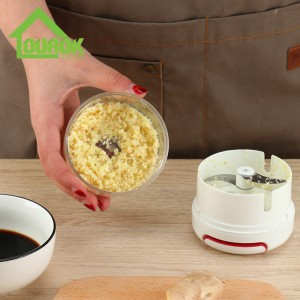 Plastic onion & vegetable manual cutter chopper food processor A006