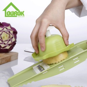 Manual Plastic Vegetable slicer cutter Grater for home use C313A