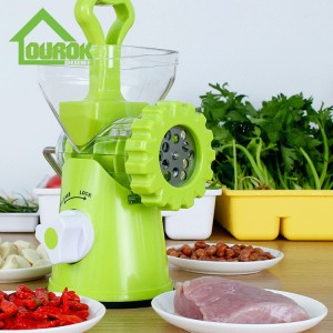 Manual plastic meat mincer with sausage stuffer B266