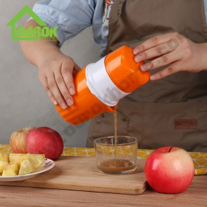 Amazon hot selling portable manual fruit juicer for home use D566