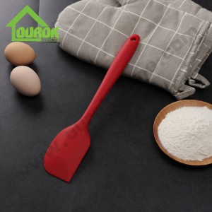 Wholesale best long silicone bbq spatula brush spoon scraper set of 3  H111