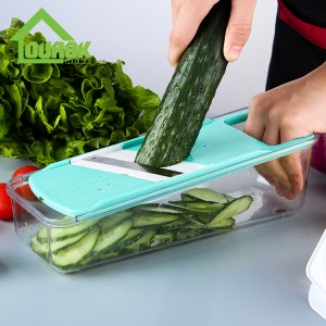 Multifunction Vegetable Cutter With 5 Blades C316
