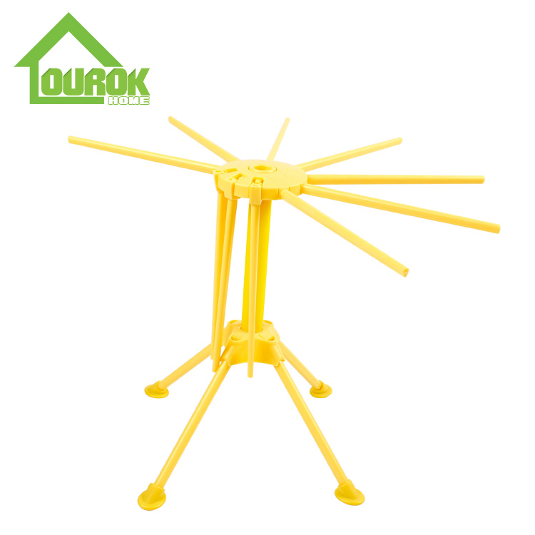 Plastic pasta noodle drying rack with 10 handles  G850 Featured Image