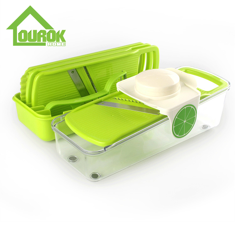 Multifunction Vegetable Cutter With 5 Blades  C318 Featured Image