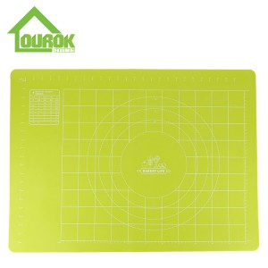 Silicone baking pastry mat sheet with measurements GS01