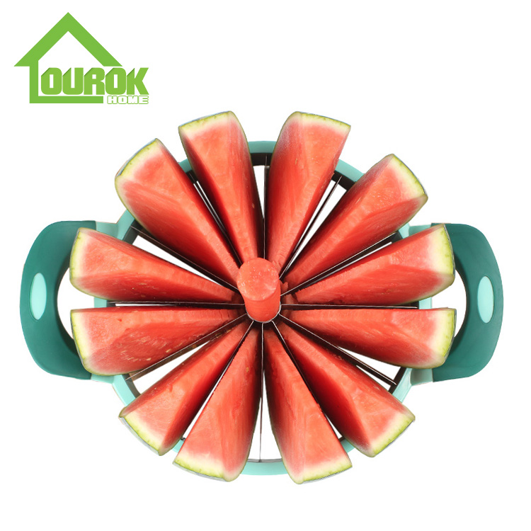 Hot selling stainless steel  watermelon slicer corer melon cutter  K112 Featured Image