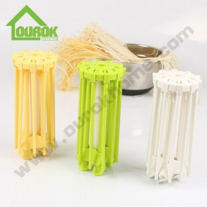Plastic pasta noodle drying rack with 10 handles  G850