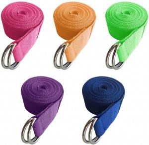 5-Pack Yoga Adjustable Straps