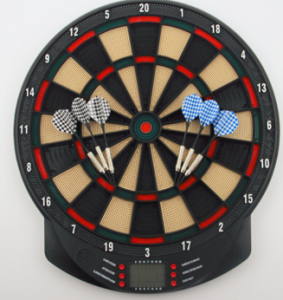 Electric Dart Board,  Score board