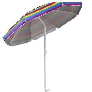 Stripe Beach Umbrella