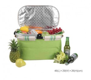 Camping Insulated Picnic Basket ,Waterproof Picnic bags