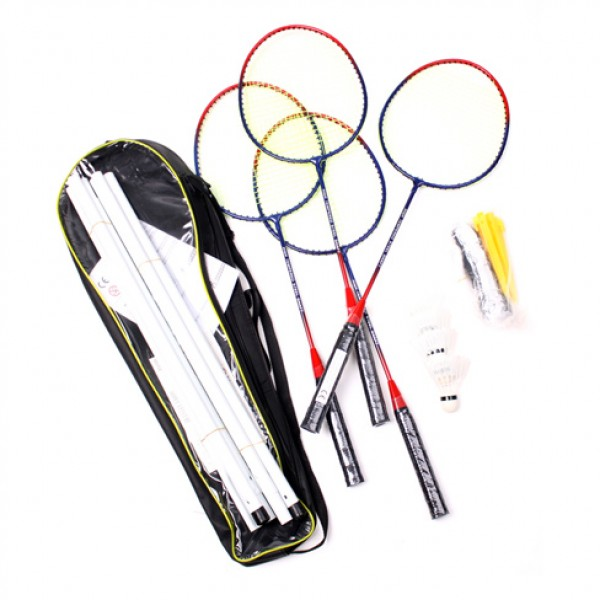 Badminton Rackets With Net