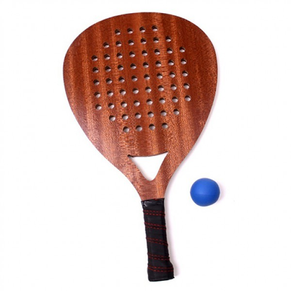 Wooden beach rackets
