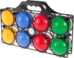 8 Balls Bocce Ball Set with Carrying Case
