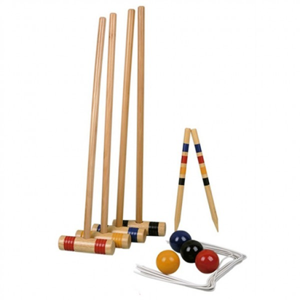 wooden croquet ,croquet game
