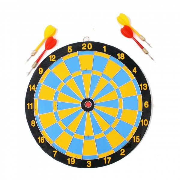 Dartboard With 4 Darts