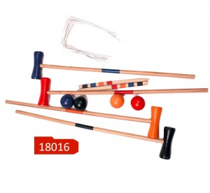 Wooden croquet ,color croquet