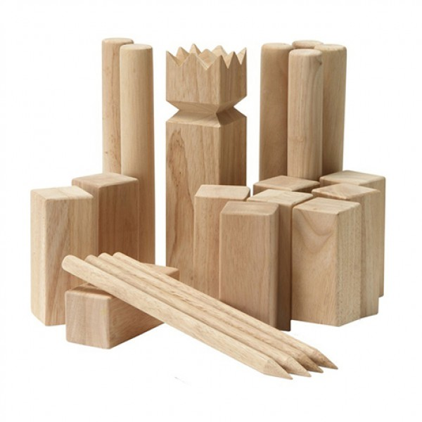outdoor Large kubb set