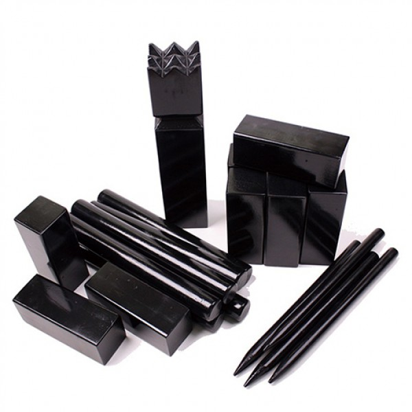 Kubb Game Set ,kubb in black color