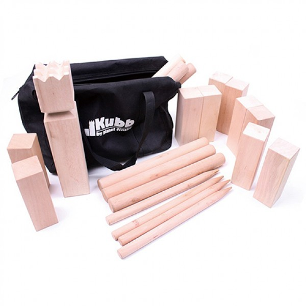 Garden large Kubb, kubb Lawn Game Set