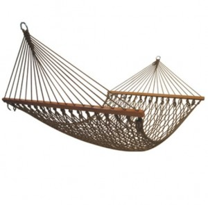 Double rope hammock