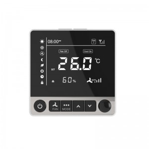 ZigBee Fancoil Thermostat with remote control via app PCT504-Z