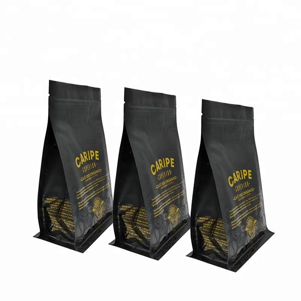 free samples custom printed kraft paper flat square bottom bags chips food packing pouch Featured Image