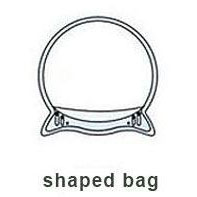 shaped bag