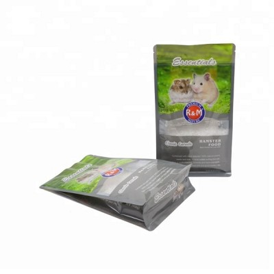 MOQ 1000 Pet Food Side Gusset Bag  Cat Food Plastic Gusset Bags with Print