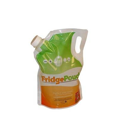 The size of 250ml Spout Pouch  Liquid food spout packaging bag with suction nozzle