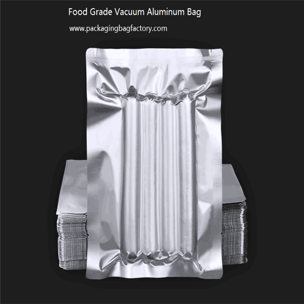 Food Grade Vacuum Aluminum Bag 100g cooking food packaging bag Featured Image