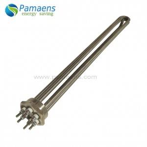 High Quality Acid Resistance Immersion Heater for Chemical Liquid