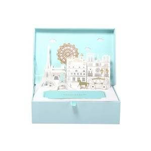 NEW Double Heart Love 3D Wedding Partiya Card Candy Chocolate box Gift Ji bo mêvan.
