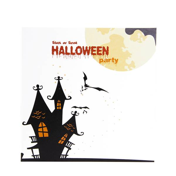 Reasonable price for Angel Pop Up Card -    Pumkin and Ghost 3D Handmade  Pop up Halloween Greeting Card – Jiujv