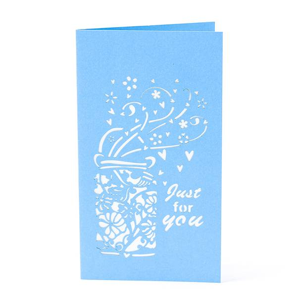 Factory Price For 3d Wedding Card Design -