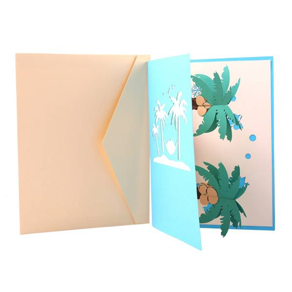 100% Original Birthday Card For Mom - Christmas Tree Invitation Greeting Cards For Friends or Family – Jiujv