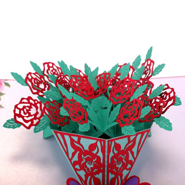 OEM/ODM Manufacturer Fancy Paper Wedding Card -