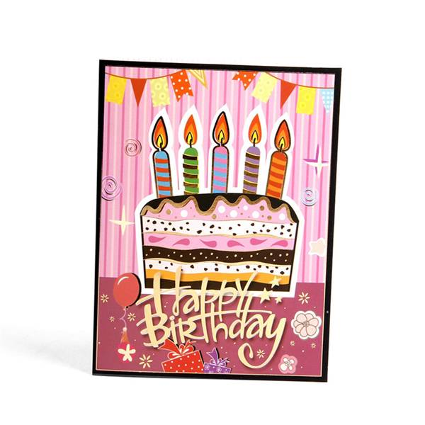 Manufacturing Companies for Greeting Card Set - Colourful Birthday Cake  Greeting Cards – Jiujv